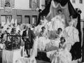 Défilé - Char de la Reine - Fête des Mousselines 1955