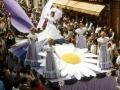 Défilé - Char de la Reine - Fête des Mousselines 1980