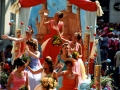 Défilé - Char de la Reine - Fête des Mousselines 1995