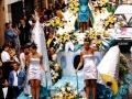 Défilé - Char de la Reine - Fête des Mousselines 2000