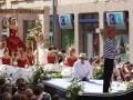 Défilé - Char de la Reine - Fête des Mousselines 2010