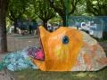 Exposition Petits poissons deviendront grands - Fête des Mousselines 2015