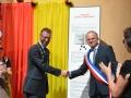 Inauguration du totem Herrenberg - Fête des Mousselines 2015